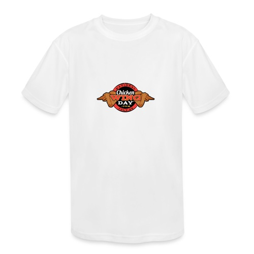 Chicken Wing Day - Kids' Moisture Wicking Performance T-Shirt
