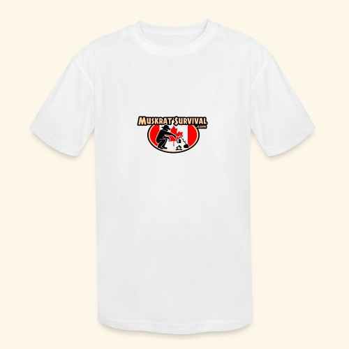 Muskrat Badge 2020 - Kids' Moisture Wicking Performance T-Shirt
