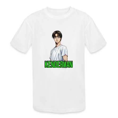 Kenderman manga style merch - Kids' Moisture Wicking Performance T-Shirt