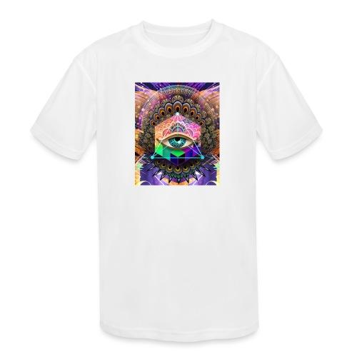 ruth bear - Kids' Moisture Wicking Performance T-Shirt
