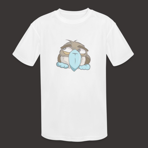 Cute Boobie Bird - Kids' Moisture Wicking Performance T-Shirt