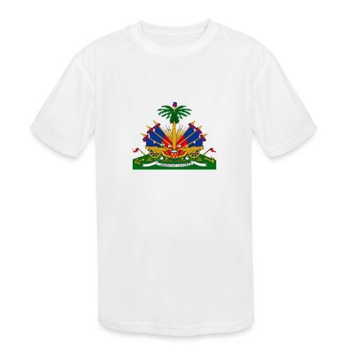 Armes de la république - Kids' Moisture Wicking Performance T-Shirt