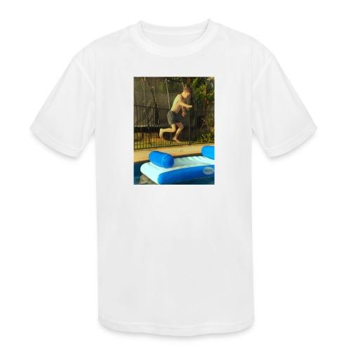 jump clothing - Kids' Moisture Wicking Performance T-Shirt