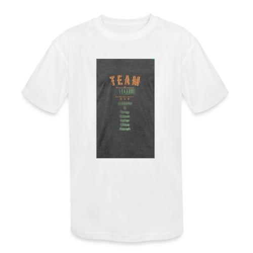 Team 10JR official - Kids' Moisture Wicking Performance T-Shirt