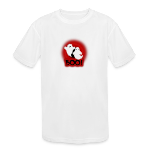 Ghosties Boo Happy Halloween 4 - Kids' Moisture Wicking Performance T-Shirt