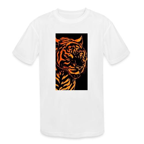 Fire tiger - Kids' Moisture Wicking Performance T-Shirt