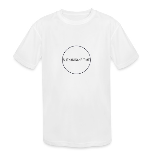 LOGO ONE - Kids' Moisture Wicking Performance T-Shirt