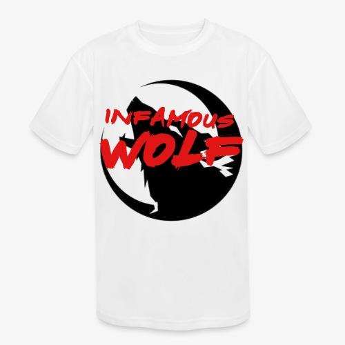 Infamous Wolf shirt(kid) - Kids' Moisture Wicking Performance T-Shirt