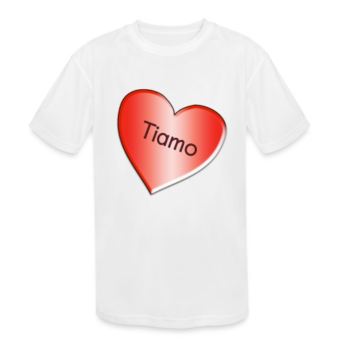 Tiamo I love you - Kids' Moisture Wicking Performance T-Shirt