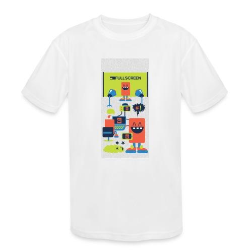 iphone5screenbots - Kids' Moisture Wicking Performance T-Shirt