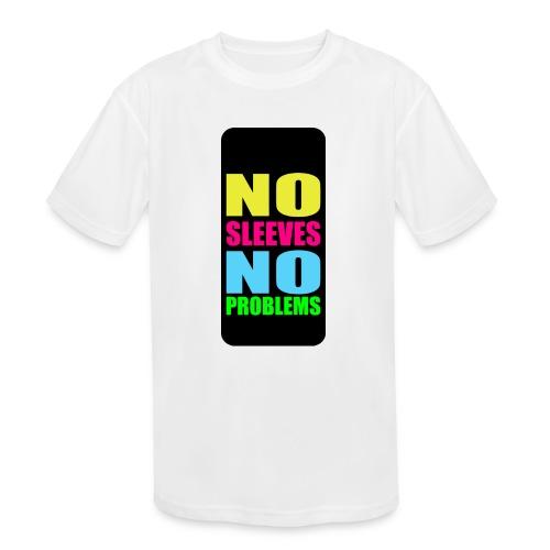 neonnosleevesiphone5 - Kids' Moisture Wicking Performance T-Shirt