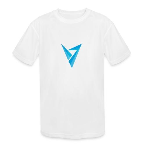 v logo - Kids' Moisture Wicking Performance T-Shirt