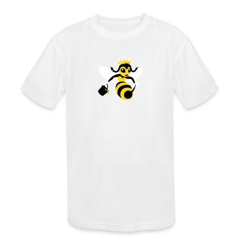 Queen Bee - Kids' Moisture Wicking Performance T-Shirt