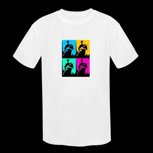 LGBT Support - Kids' Moisture Wicking Performance T-Shirt