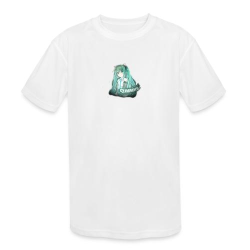 Summrrz Logo Transparent - Kids' Moisture Wicking Performance T-Shirt