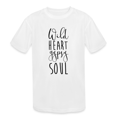 Cosmos 'Wild Heart Gypsy Sould' - Kids' Moisture Wicking Performance T-Shirt