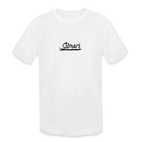 Silmari Signature Logo - Kids' Moisture Wicking Performance T-Shirt