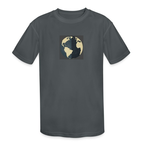 The world as one - Kids' Moisture Wicking Performance T-Shirt