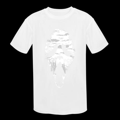 Reaper Screams | Scary Halloween - Kids' Moisture Wicking Performance T-Shirt