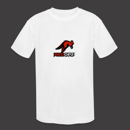 RedOpz Basic - Kids' Moisture Wicking Performance T-Shirt