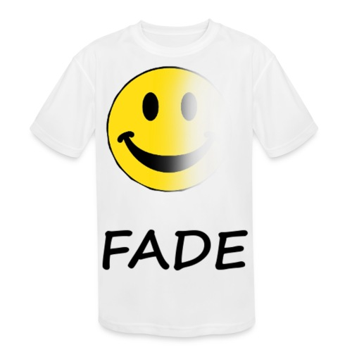 Fade Official Smile - Kid's Moisture Wicking Performance T-Shirt