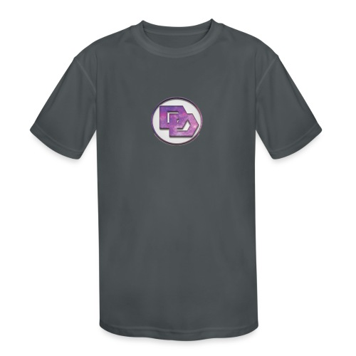 DerpDagg Logo - Kids' Moisture Wicking Performance T-Shirt