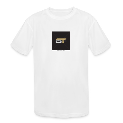 BT logo golden - Kids' Moisture Wicking Performance T-Shirt