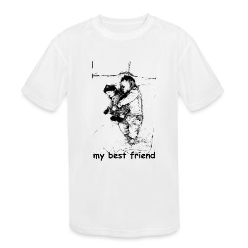 My Best Friend (baby) - Kids' Moisture Wicking Performance T-Shirt