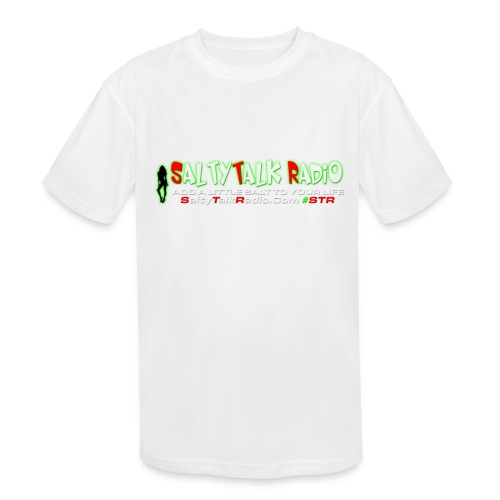 str front png - Kids' Moisture Wicking Performance T-Shirt