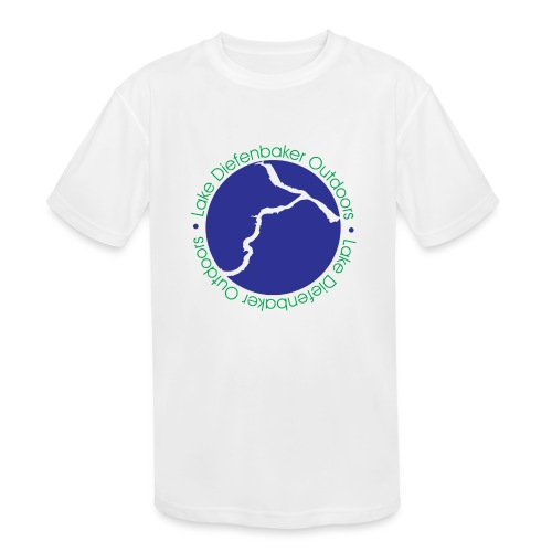 LAKE DIEFENBAKER OUTDOORS - Kids' Moisture Wicking Performance T-Shirt