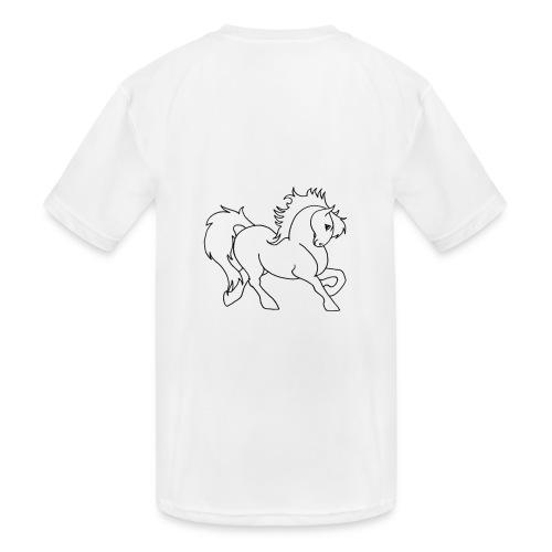 horse - Kids' Moisture Wicking Performance T-Shirt