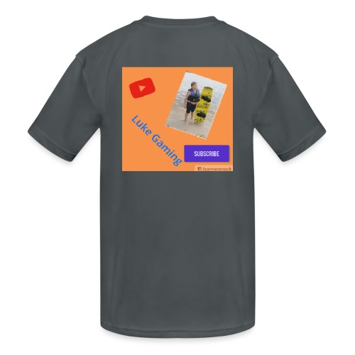 Luke Gaming T-Shirt - Kids' Moisture Wicking Performance T-Shirt