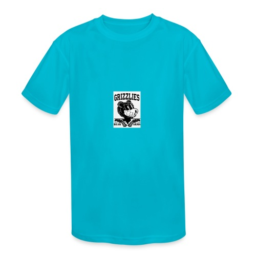 beararms - Kids' Moisture Wicking Performance T-Shirt