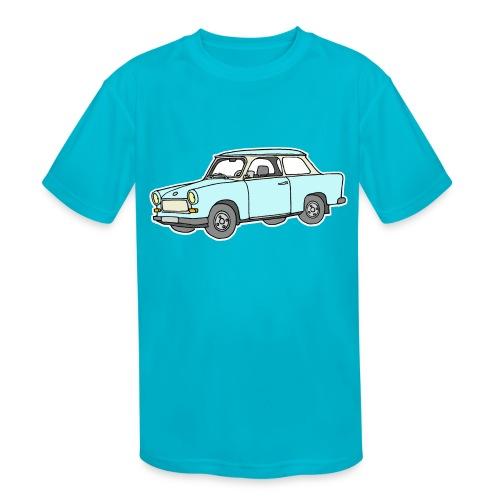 Trabant (lightblue) - Kids' Moisture Wicking Performance T-Shirt