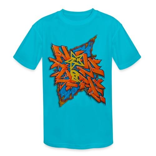 Artgomez14 - NYG Design - Kids' Moisture Wicking Performance T-Shirt