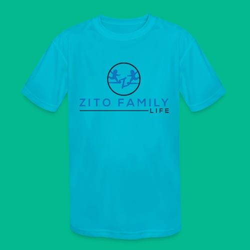 Zito Twins Shop - Kids' Moisture Wicking Performance T-Shirt