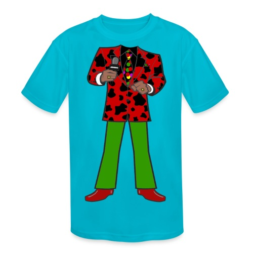 The Red Cow Suit - Kids' Moisture Wicking Performance T-Shirt