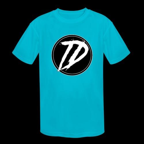Team DEBUG Logo - Kids' Moisture Wicking Performance T-Shirt
