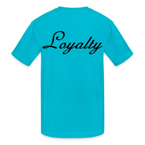 Loyalty Brand Items - Black Color - Kids' Moisture Wicking Performance T-Shirt