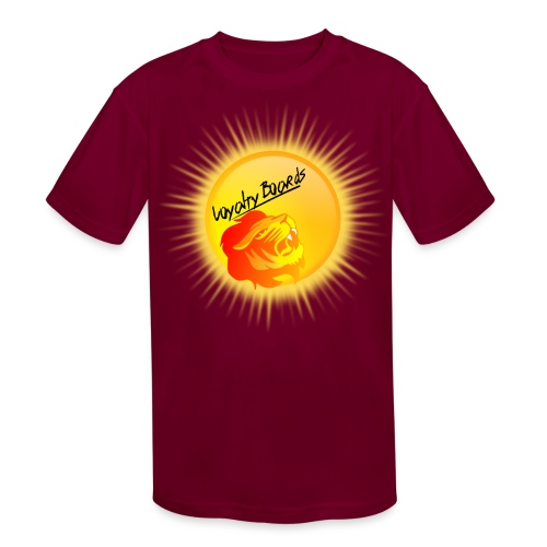 LoyaltyBoardsNewLogo 10000 - Kids' Moisture Wicking Performance T-Shirt