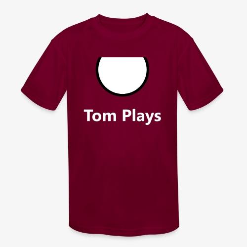 TomPlaysCircle - Kids' Moisture Wicking Performance T-Shirt