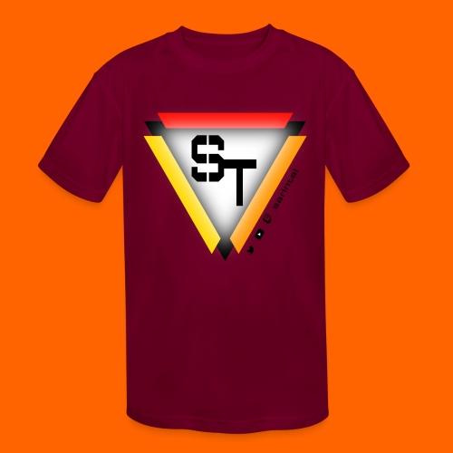 SarinTal Logo - Kids' Moisture Wicking Performance T-Shirt