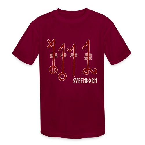 Svefnthorn (Version 1) - Kids' Moisture Wicking Performance T-Shirt