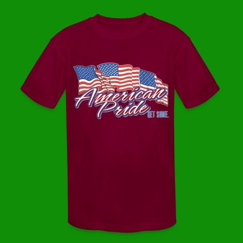 American Pride - Kids' Moisture Wicking Performance T-Shirt