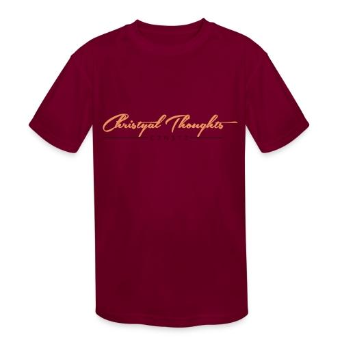 Christyal Thoughts C3N3T31 O - Kids' Moisture Wicking Performance T-Shirt