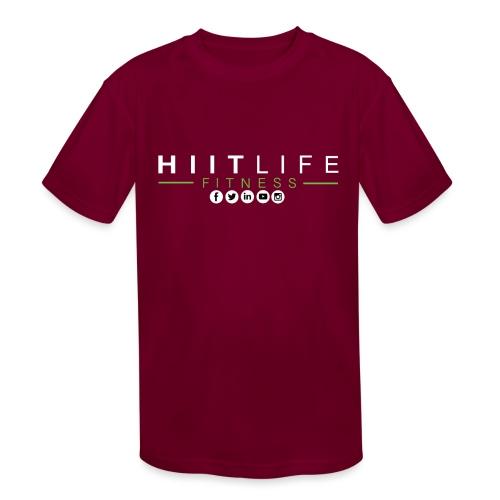 hlfsocialwht - Kids' Moisture Wicking Performance T-Shirt
