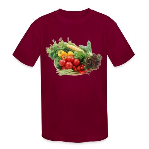 vegetable fruits - Kids' Moisture Wicking Performance T-Shirt