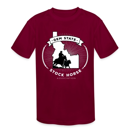 Sunburst Logo - Kids' Moisture Wicking Performance T-Shirt