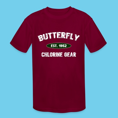 Butterfly est 1952-M - Kids' Moisture Wicking Performance T-Shirt