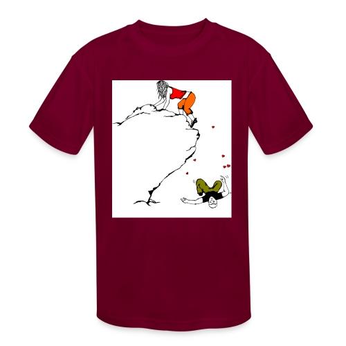 Lady Climber - Kids' Moisture Wicking Performance T-Shirt